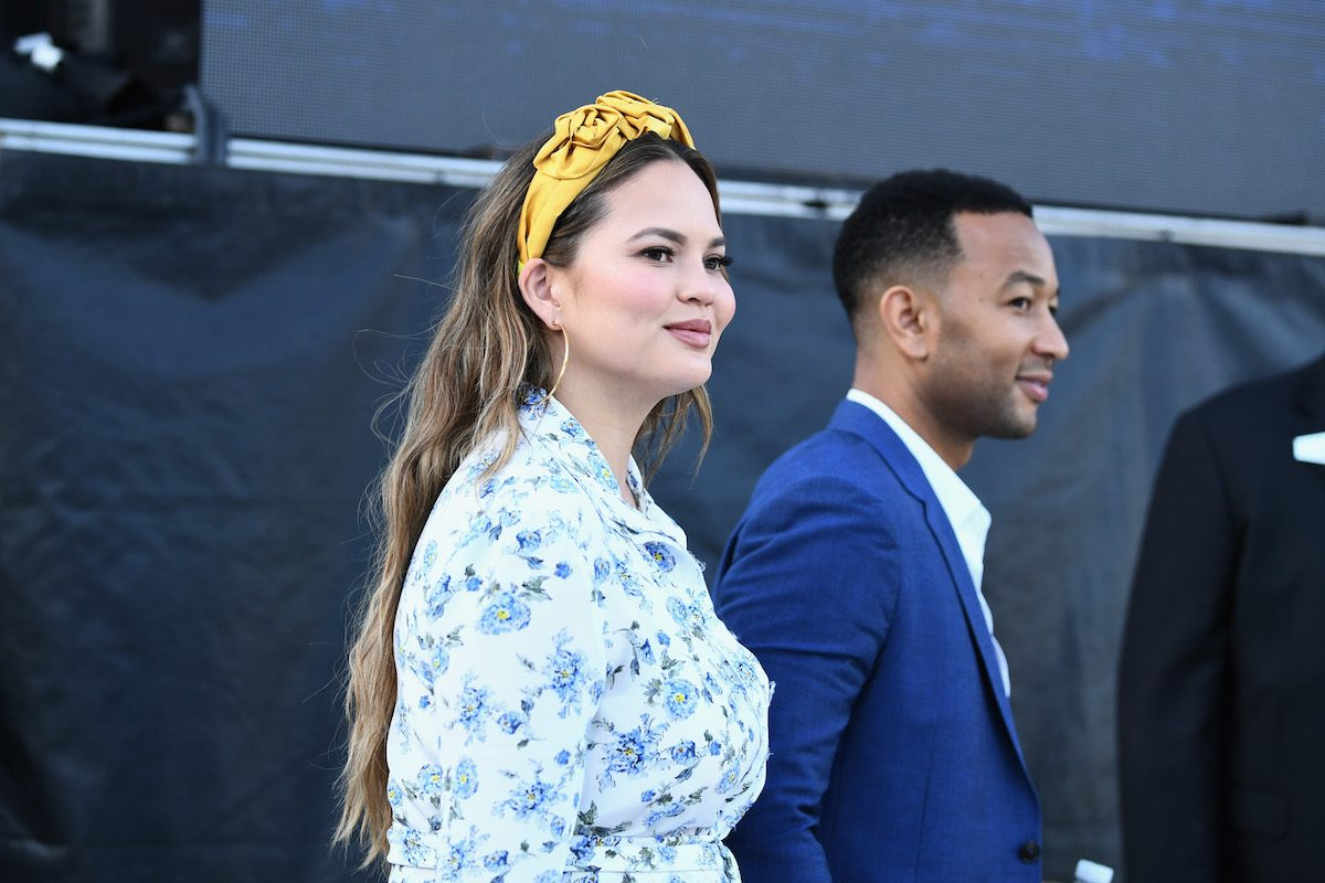 Chrissy teigen john legend donald trump immigration aclu