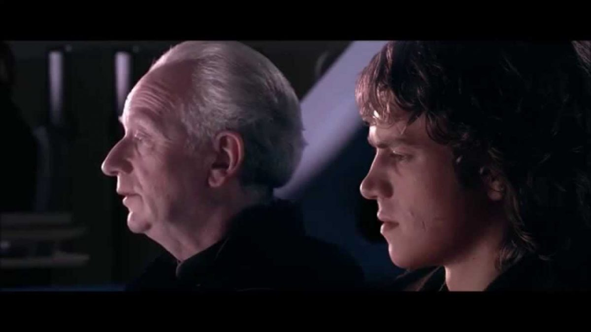 palpatine and anakin in star wars