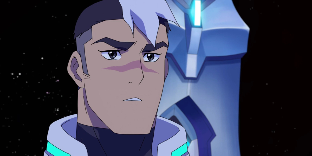 Shiro considers the next move in Dreamworks' Voltron: Legendary Defender