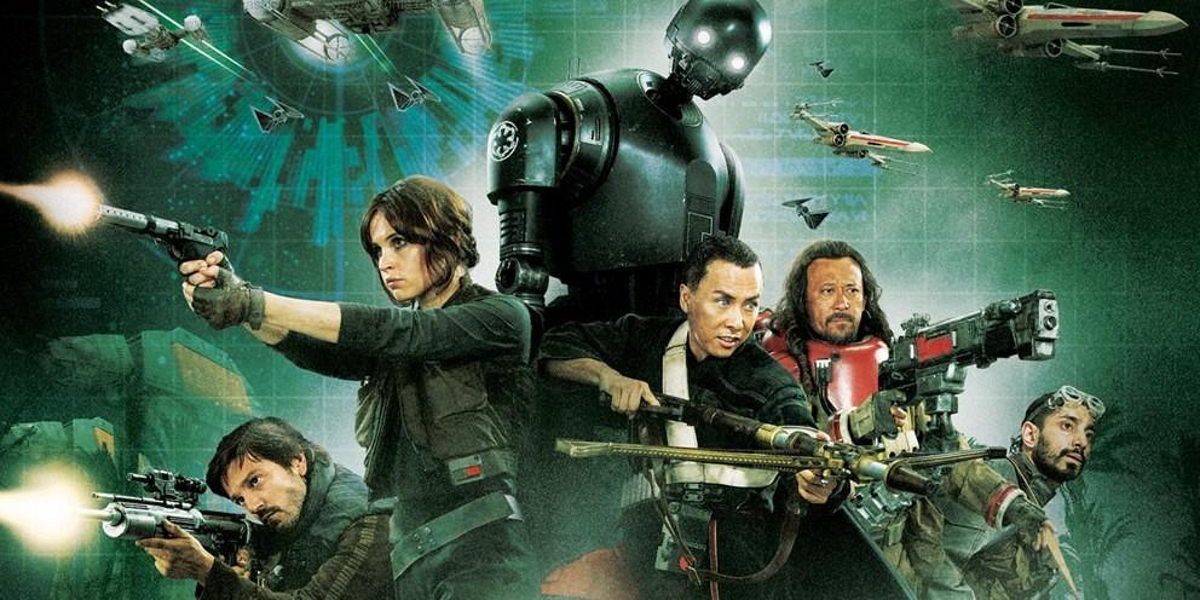 Rogue One: A Star Wars Story poster released by Lucasfilm
