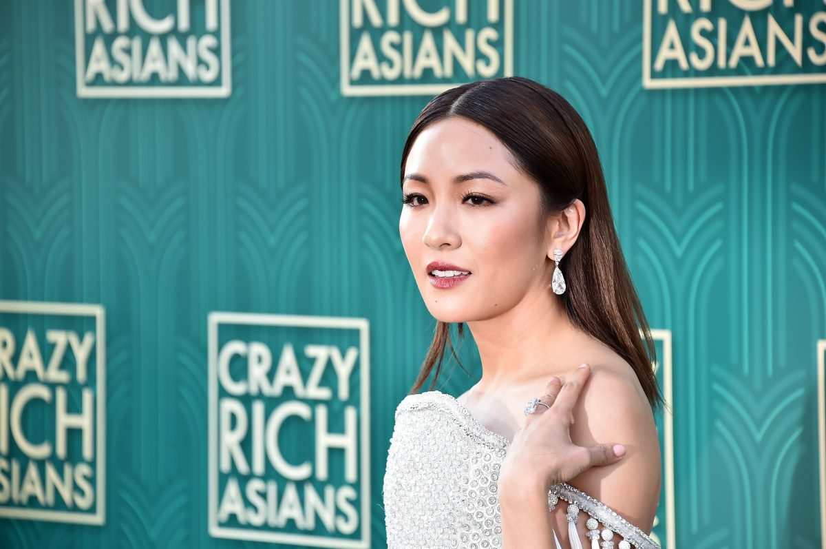 "HOLLYWOOD, CA - AUGUST 07: Constance Wu attends the premiere of Warner Bros. Pictures' ""Crazy Rich Asiaans"" at TCL Chinese Theatre IMAX on August 7, 2018 in Hollywood, California. (Photo by Alberto E. Rodriguez/Getty Images)"