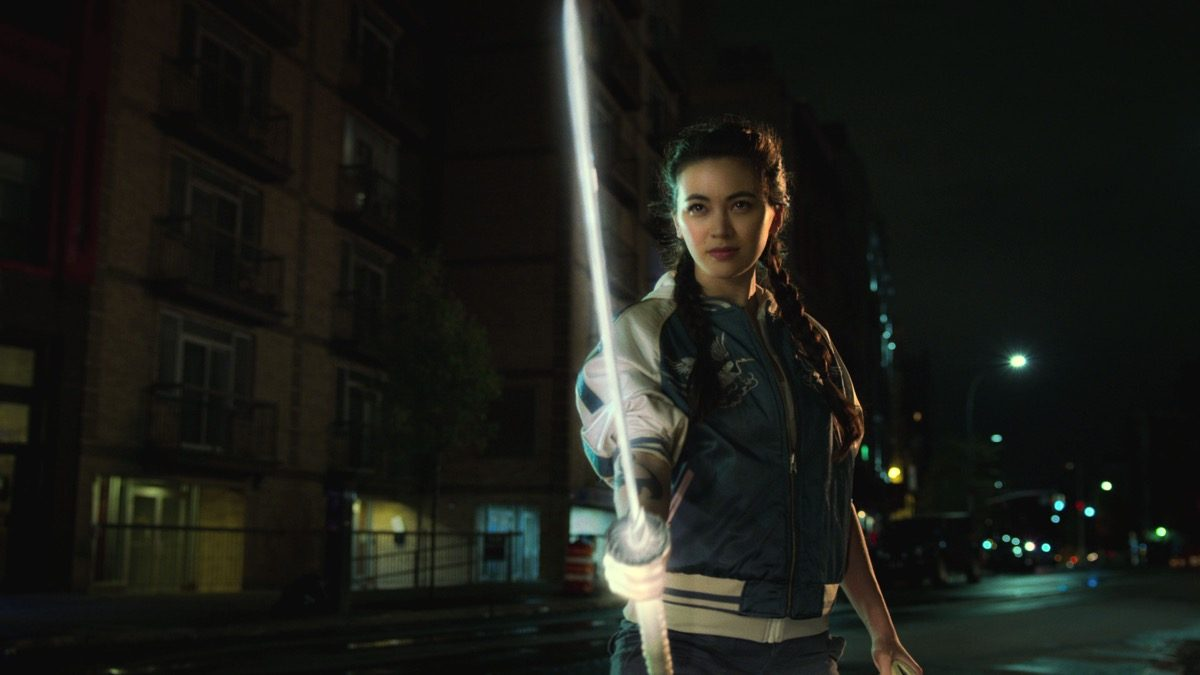 Jessica Henwick as Colleen Wing in Netflix Marvel's Iron Fist