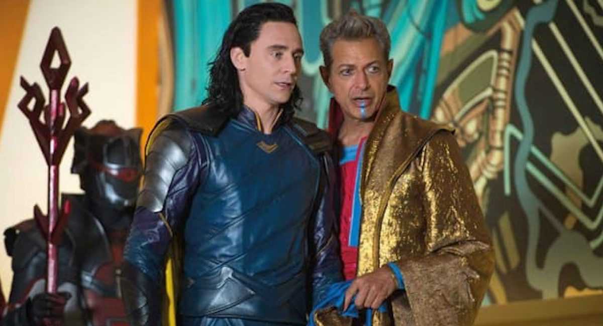 Loki and the Grandmaster in Thor Ragnarok
