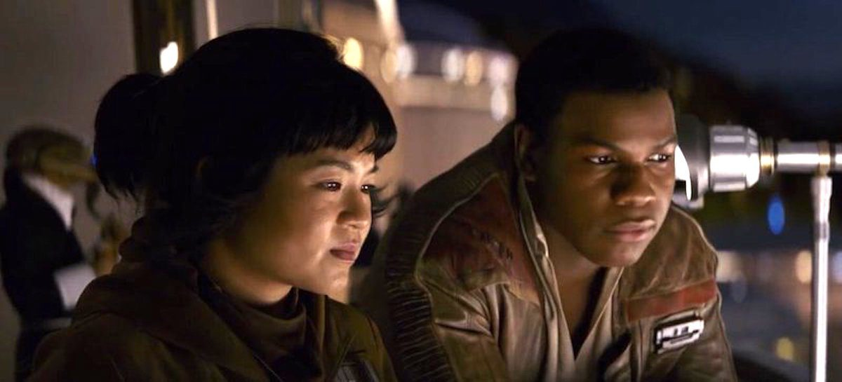 Rose and Finn on Canto Bight in Star Wars: The Last Jedi