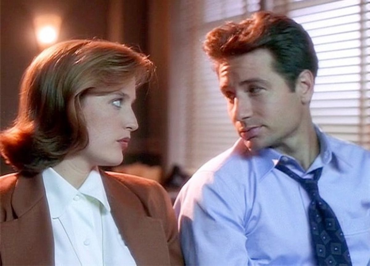 Mulder and Scully the X-Files