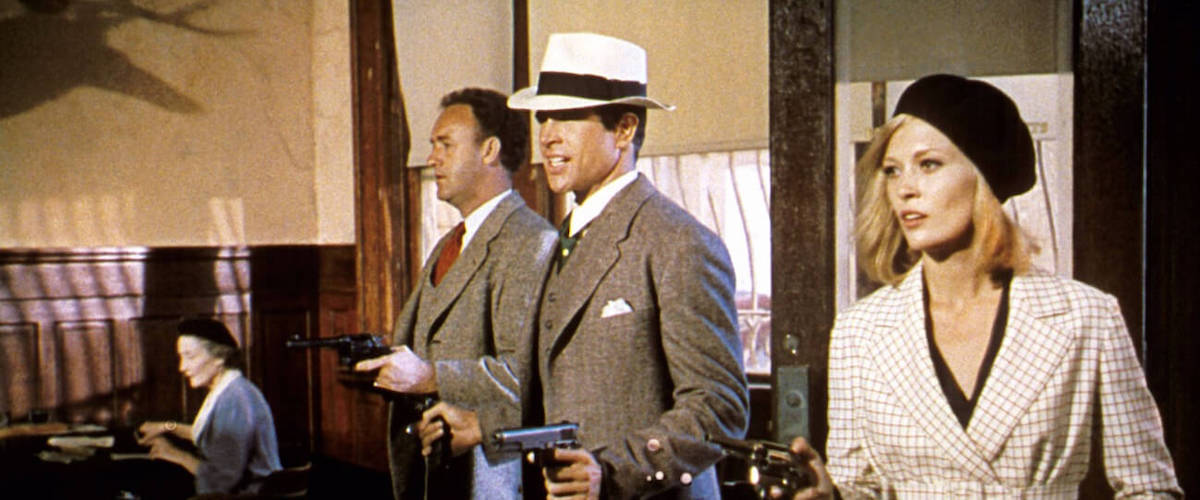 Warren Beatty and Faye Dunaway starred as the titular lovers in 1967's Bonnie and Clyde