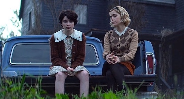 Susie Putnam and Sabrina Spellman in Chilling Adventures of Sabrina