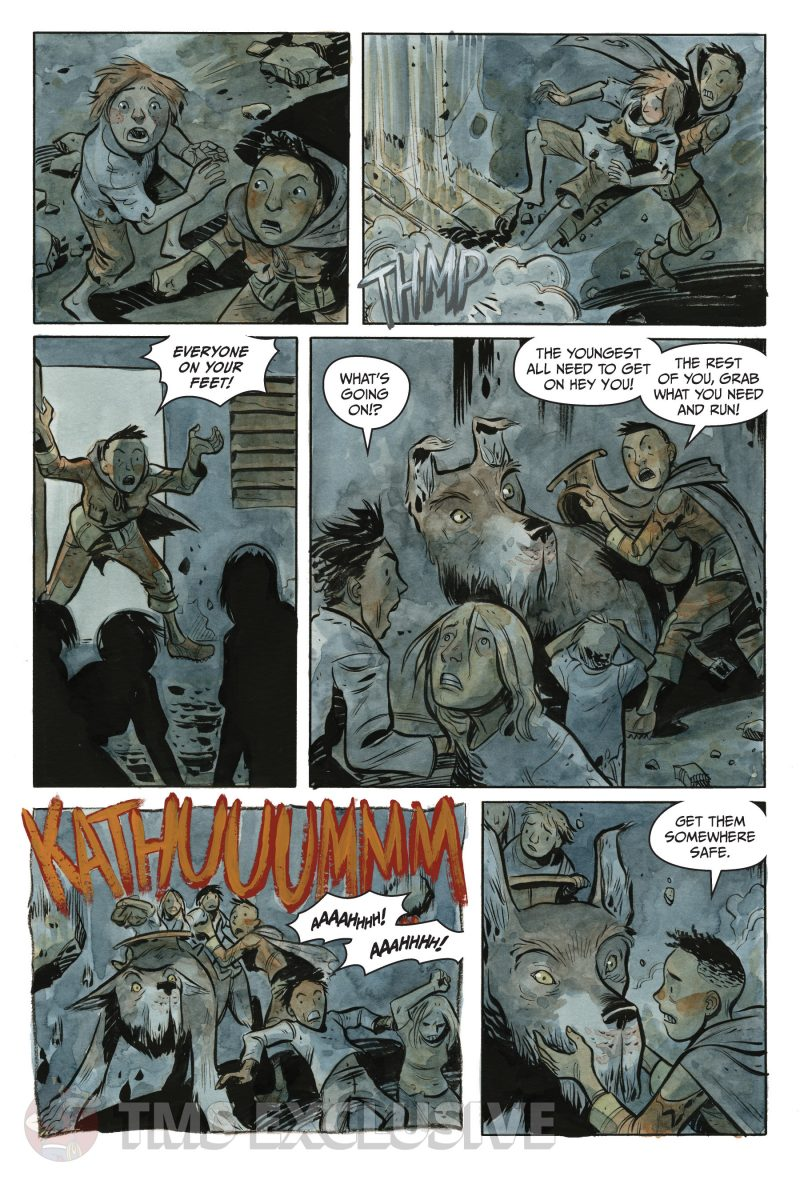 the stone king #2 page 1
