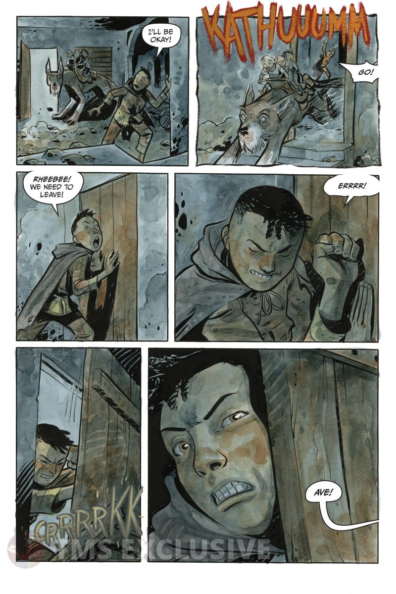 the stone king #2 page 2