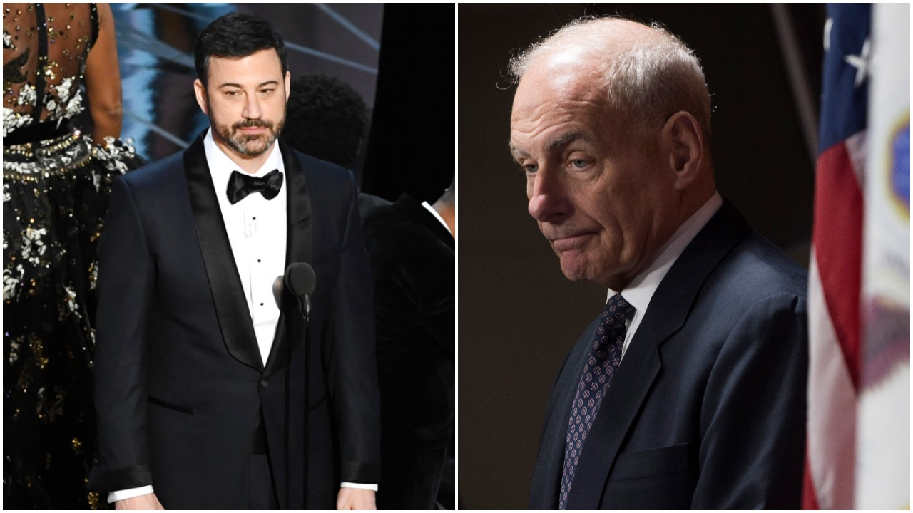 oscars, chief of staff, john kelly, kevin hart, worse job, fired, resign
