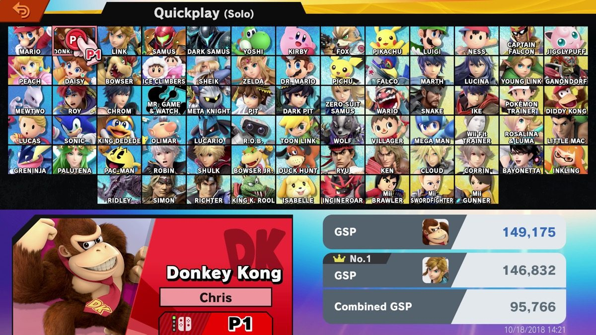 smash ultimate roster