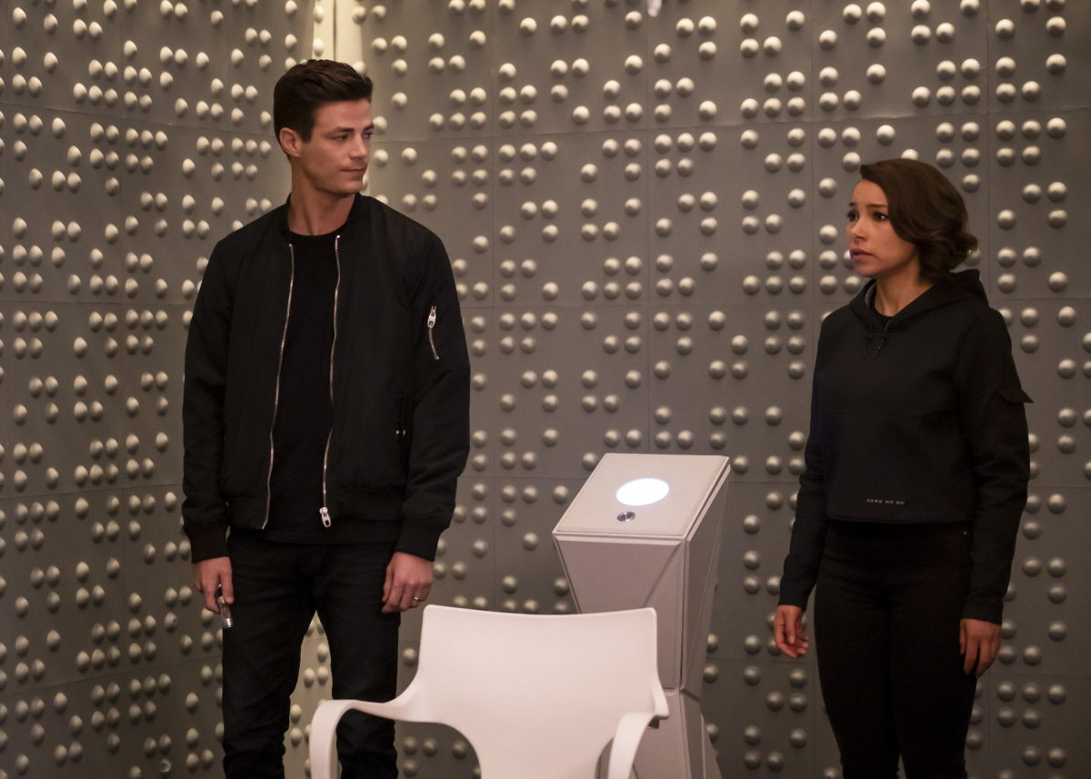 barry and nora the cw the flash episode 100