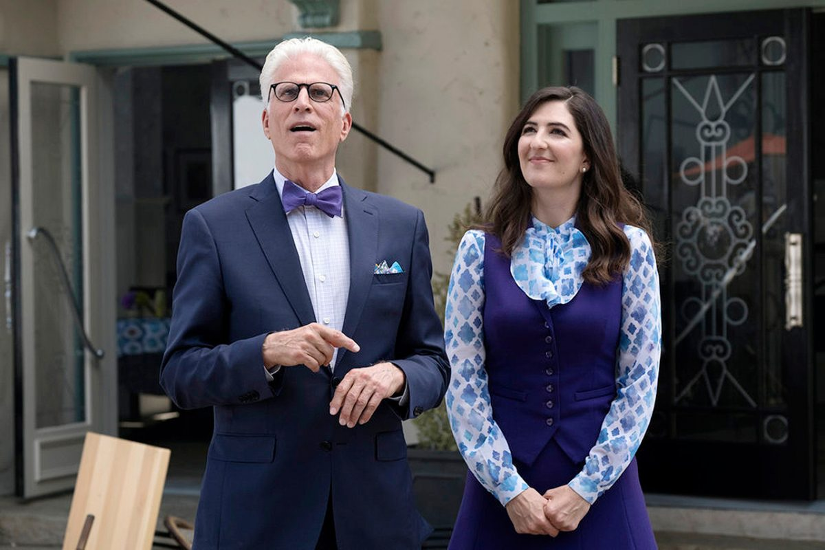 Ted Danson, D'Arcy Carden