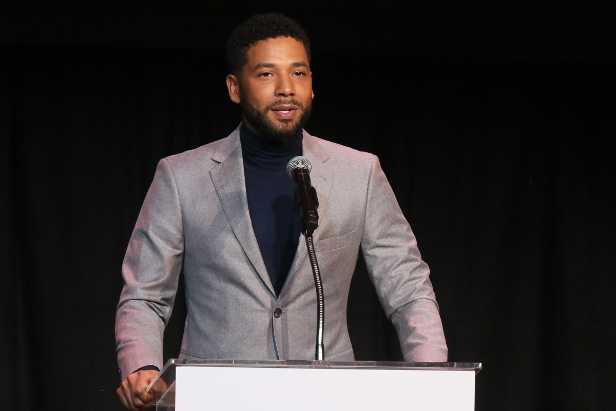 Jussie Smollett speaks at the Children's Defense Fund California's 28th Annual Beat The Odds Awards at Skirball Cultural Center on December 6, 2018 in Los Angeles, California. (Photo by Gabriel Olsen/Getty Images)