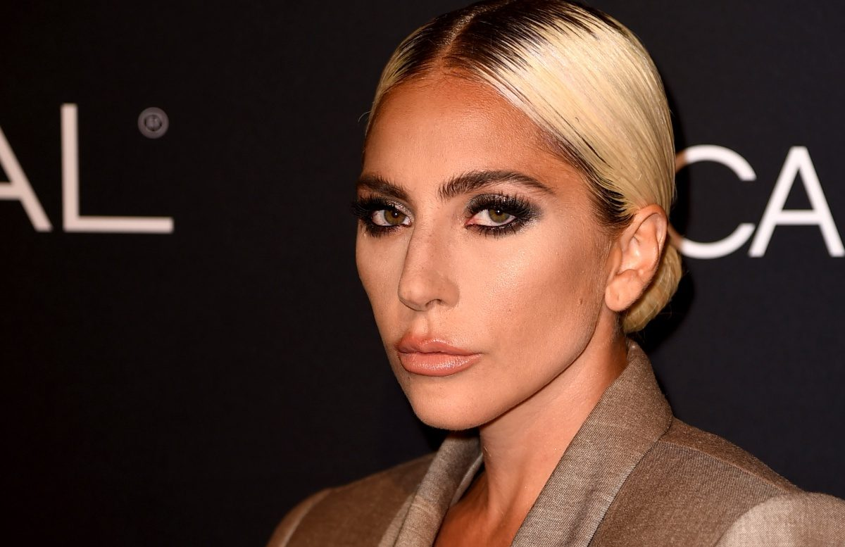 Lady Gaga arrives at the 25th Annual ELLE Women in Hollywood Celebration at the Four Seasons Hotel at Beverly Hills on October 15, 2018 in Los Angeles, California.