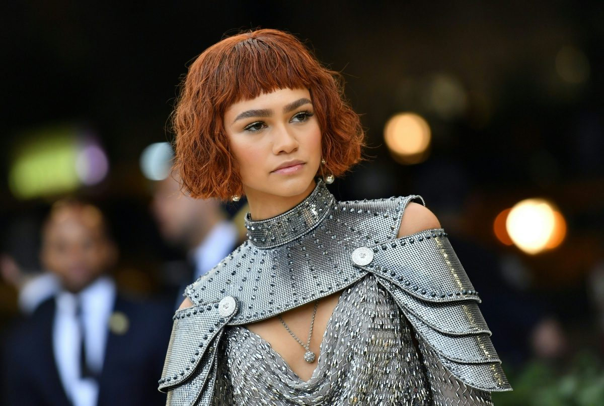 Zendaya arrives for the 2018 Met Gala on May 7, 2018, at the Metropolitan Museum of Art in New York. - The Gala raises money for the Metropolitan Museum of Arts Costume Institute. The Gala's 2018 theme is Heavenly Bodies: Fashion and the Catholic Imagination. (Photo by Angela WEISS / AFP) (Photo credit should read ANGELA WEISS/AFP/Getty Images)