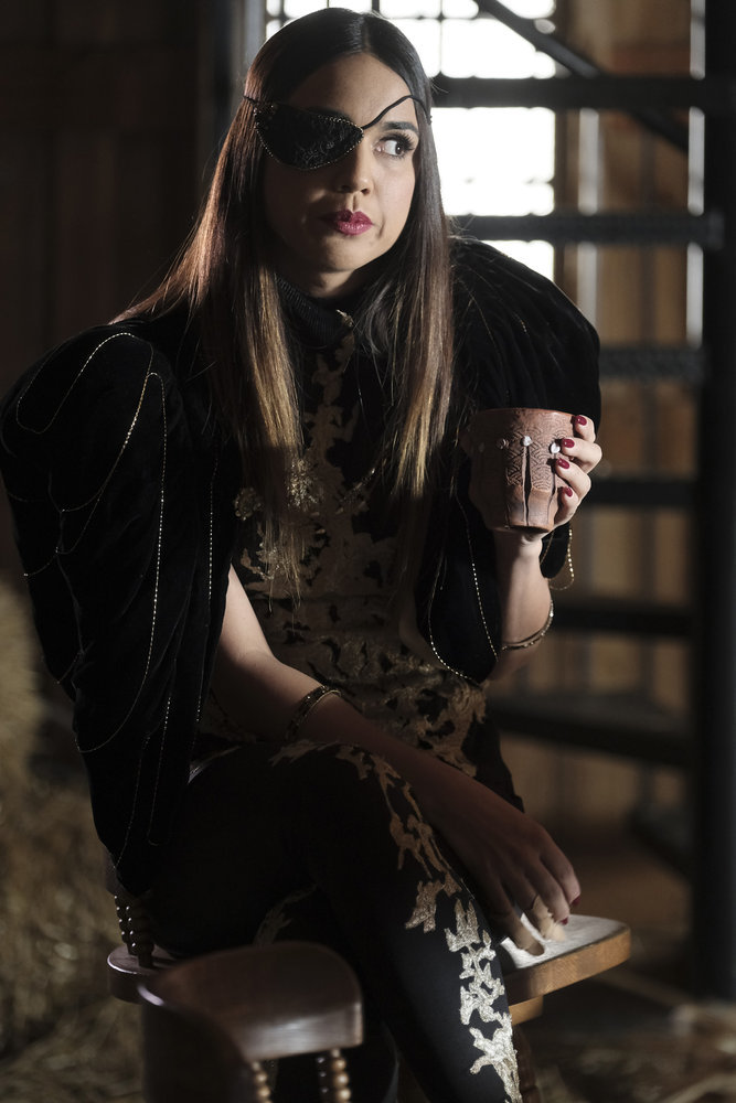 Margo in Syfy's The Magicians.