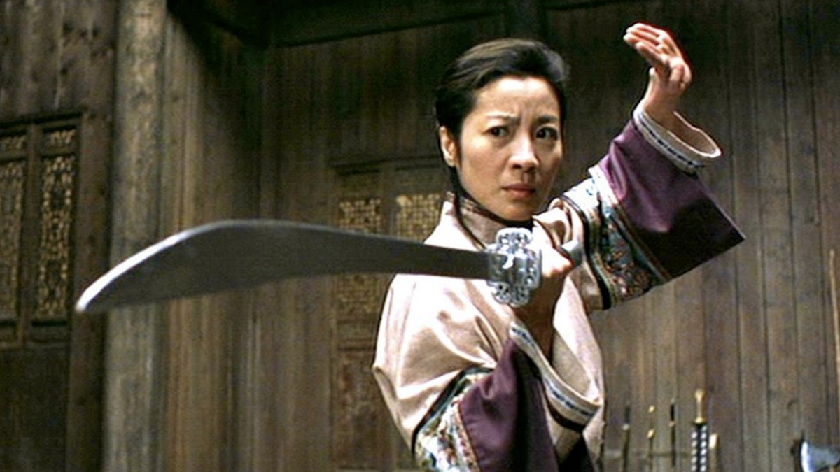 Michelle Yeoh in Crouching Tiger Hidden Dragon