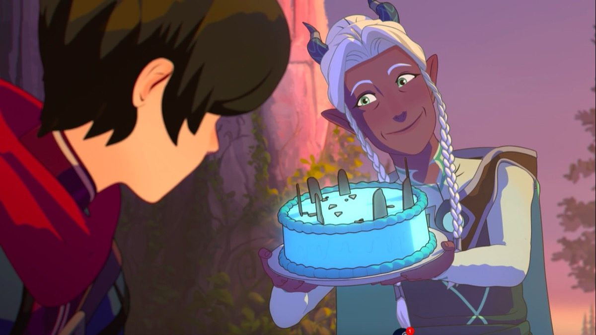 Lujanne The Moon Mage in The Dragon Prince.