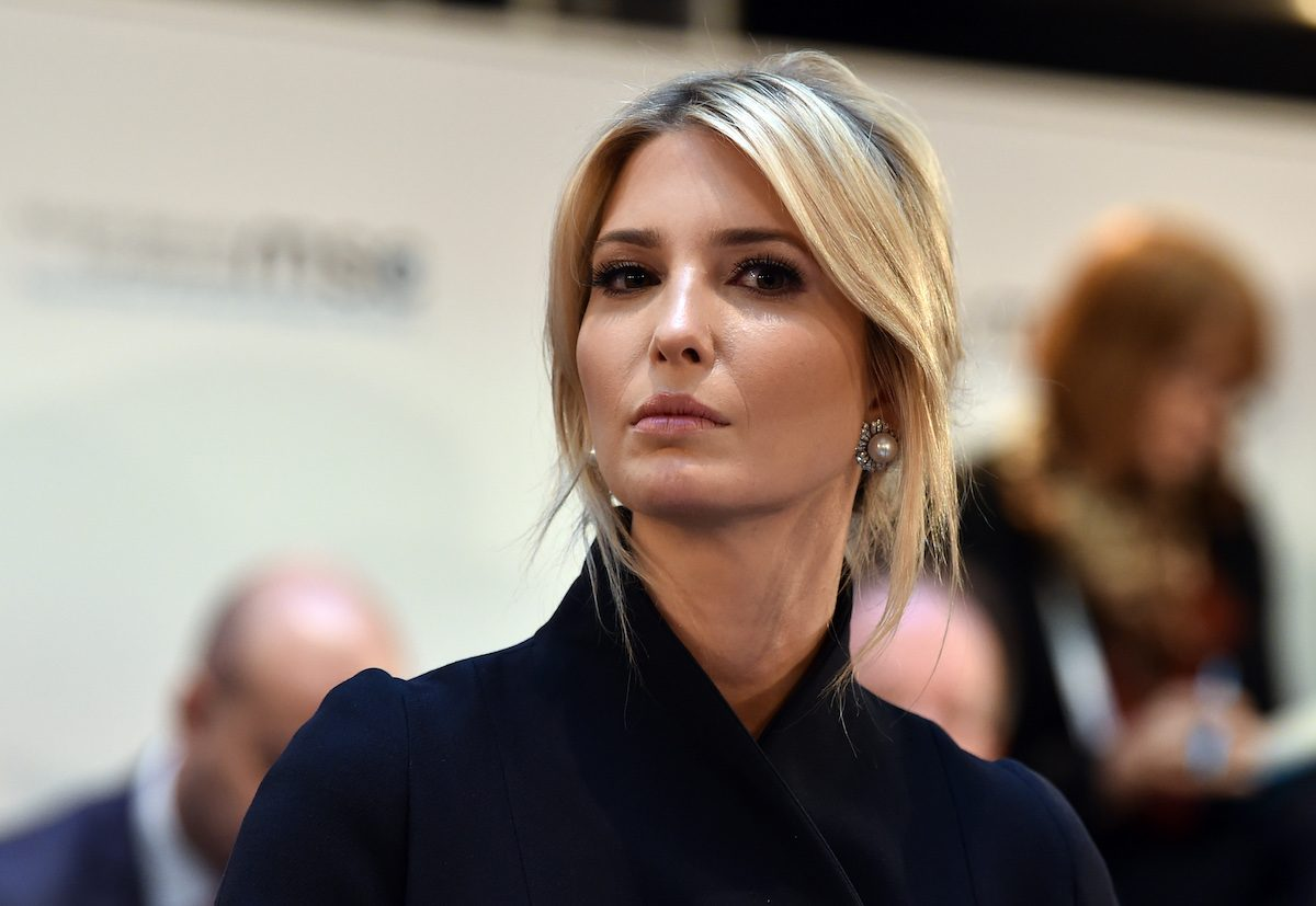 Ivanka Trump loks like an angry supervillain during a panel discussion at the 55th Munich Security Conference in Munich