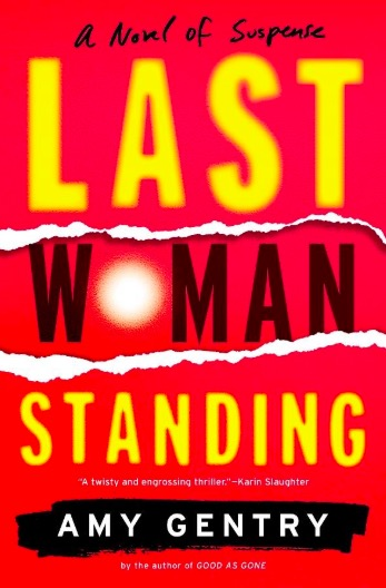 Last woman standing book cover.