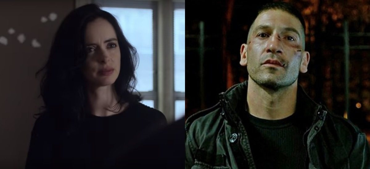 Jessica Jones and The Punisher in their Netflix series.