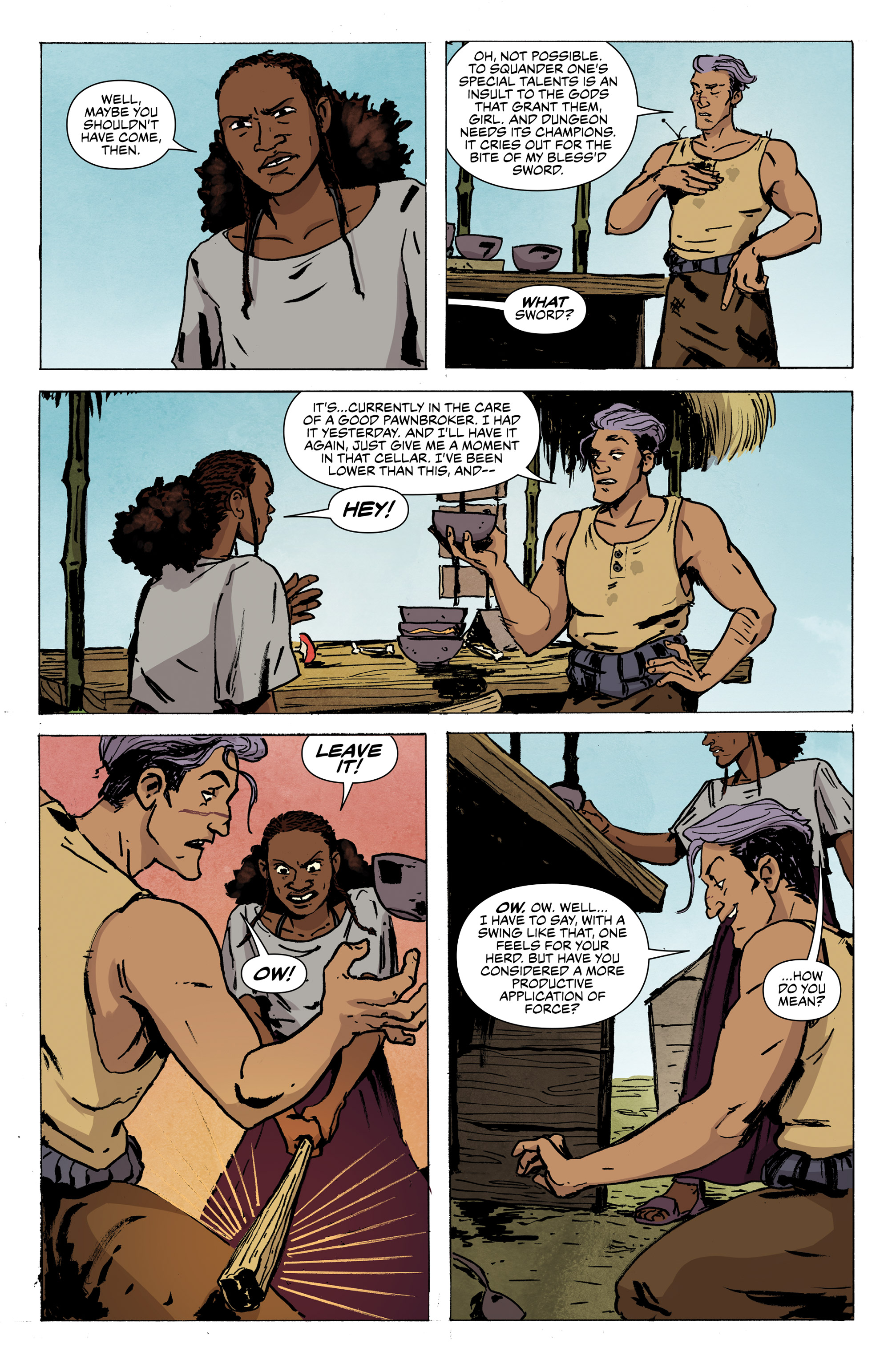 Page 3 of Delver, issue 2.