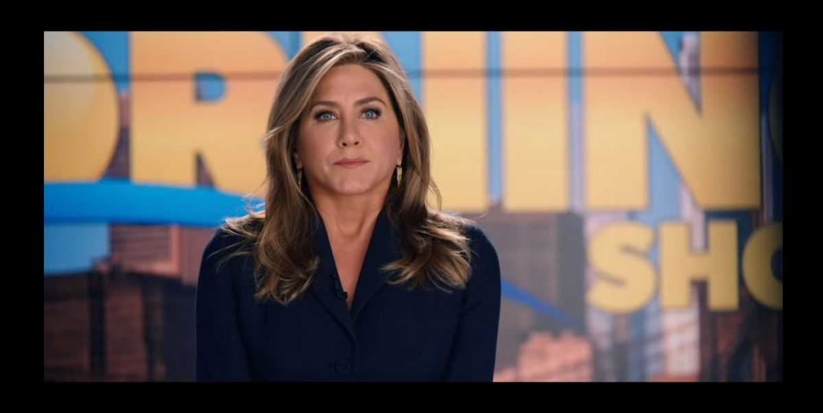 Jennifer Aniston stars in and produces The Morning Show for Apple TV+