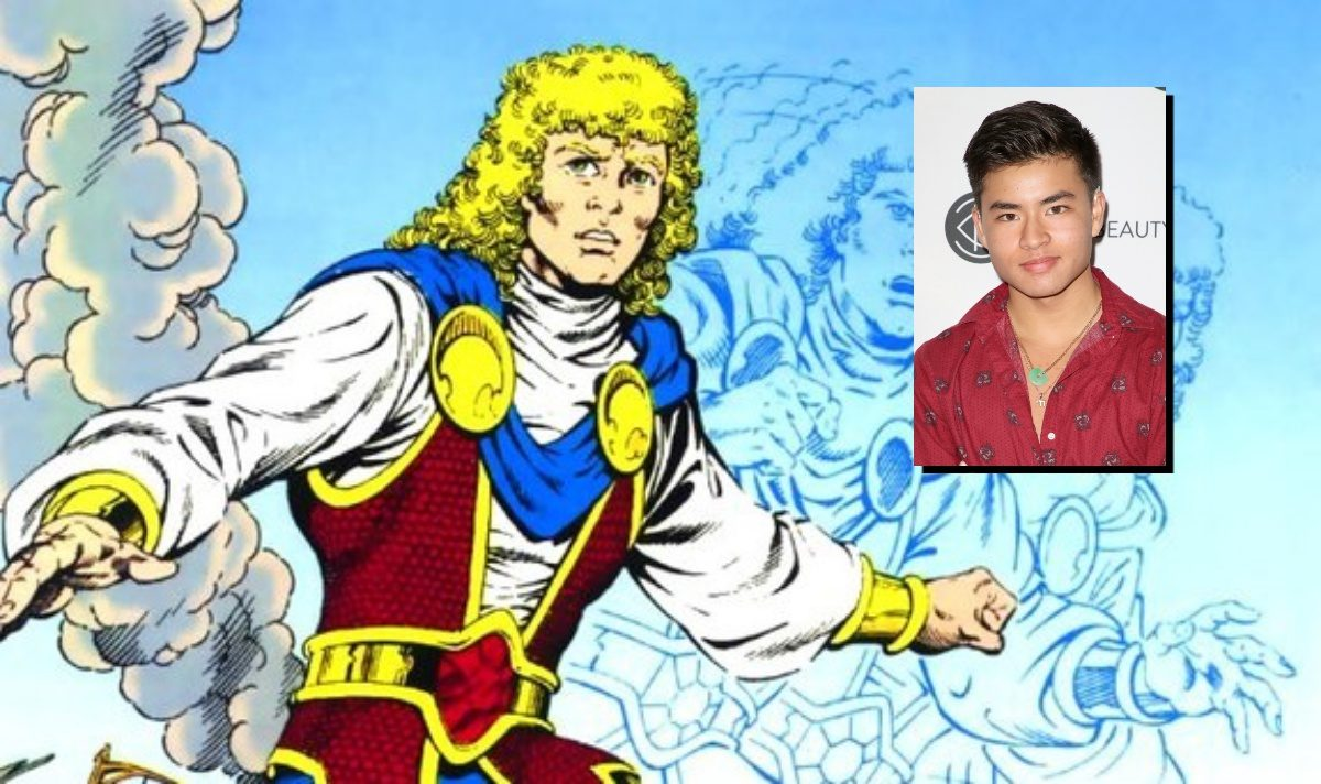 Jericho in DC Comics and the cast choice for him on Titans, Chella Man.