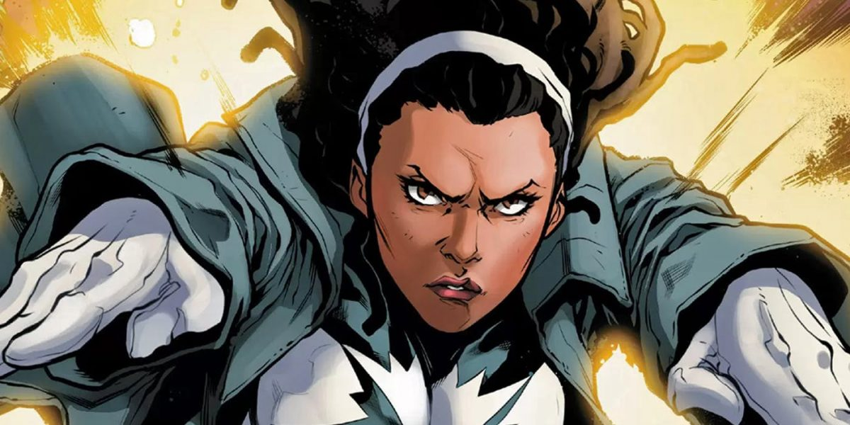 Monica Rambeau aka Spectrum in Marvel Comics.