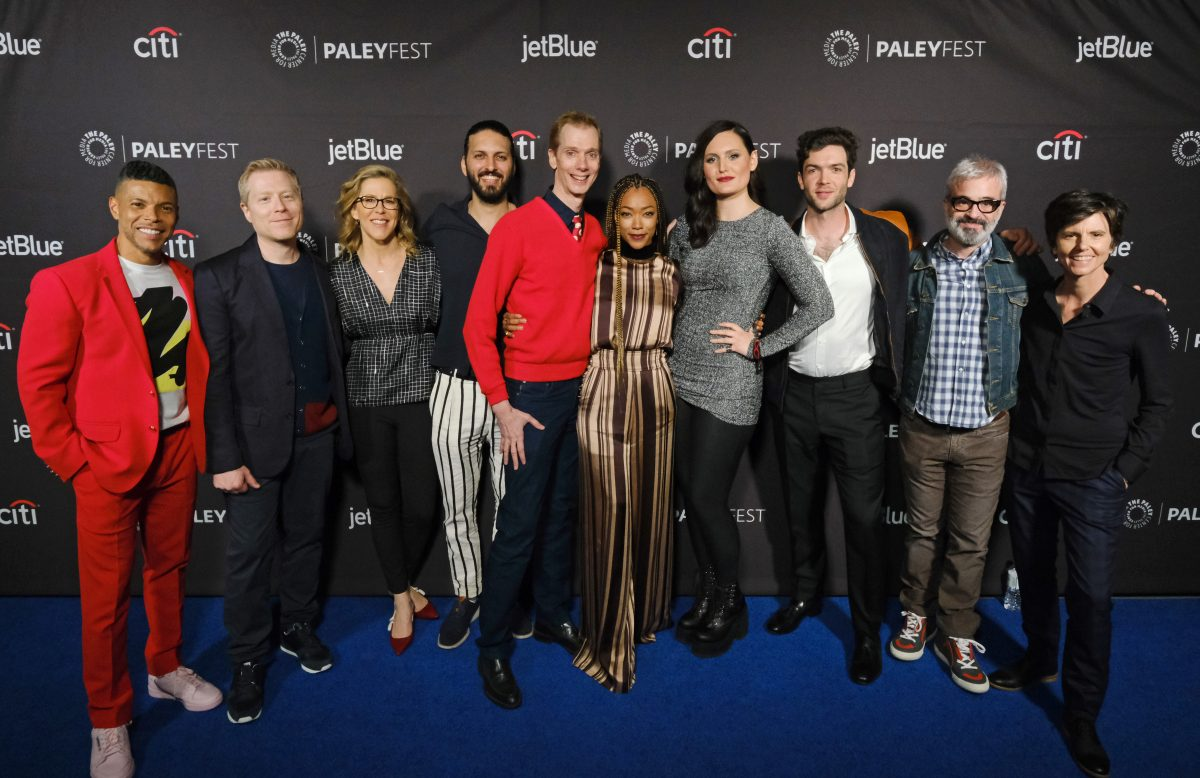 The stars and creators of Star Trek: Discovery at Paleyfest.