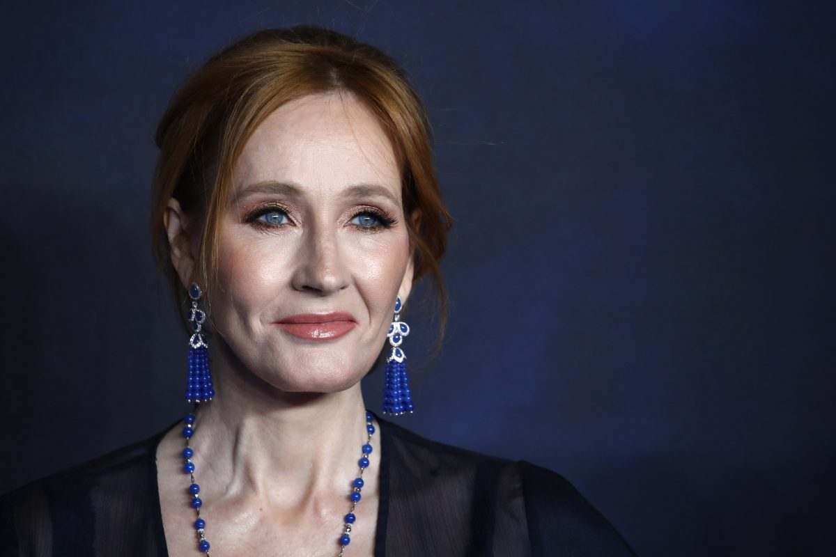 We Regret to Inform You That J.K. Rowling Is at It Again