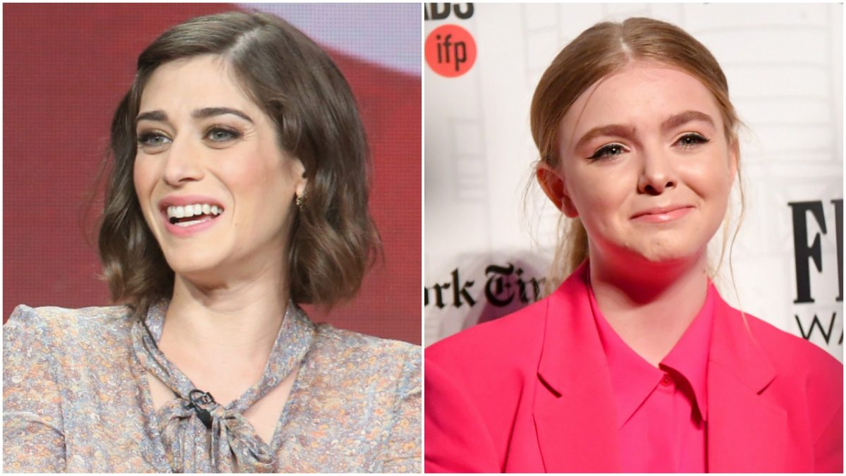Lizzy Caplan and Elsie Fisher