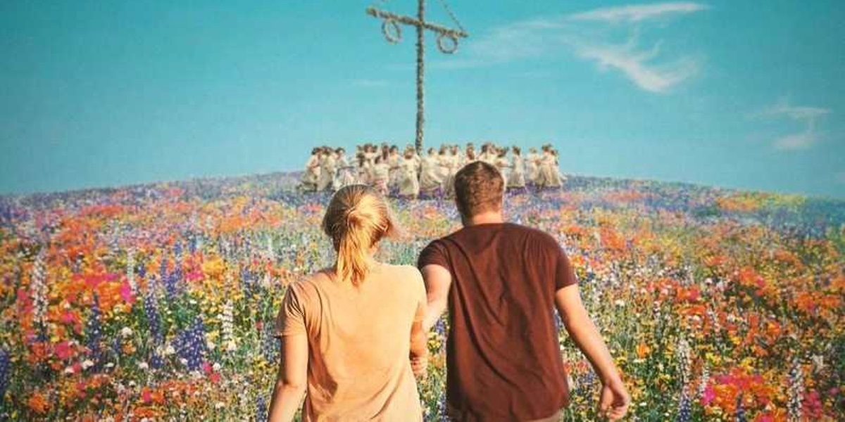 The poster for Ari Aster's upcoming horror film Midsommar.