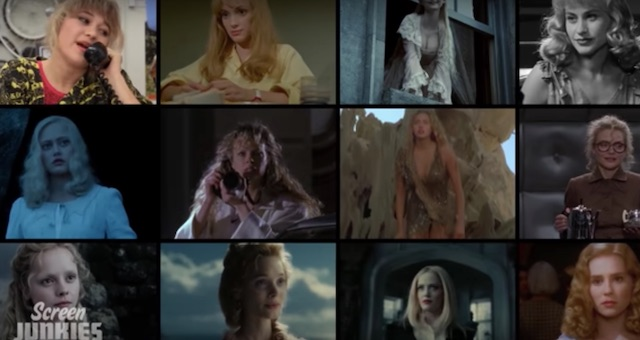Tim Burton movies ethereal blonde