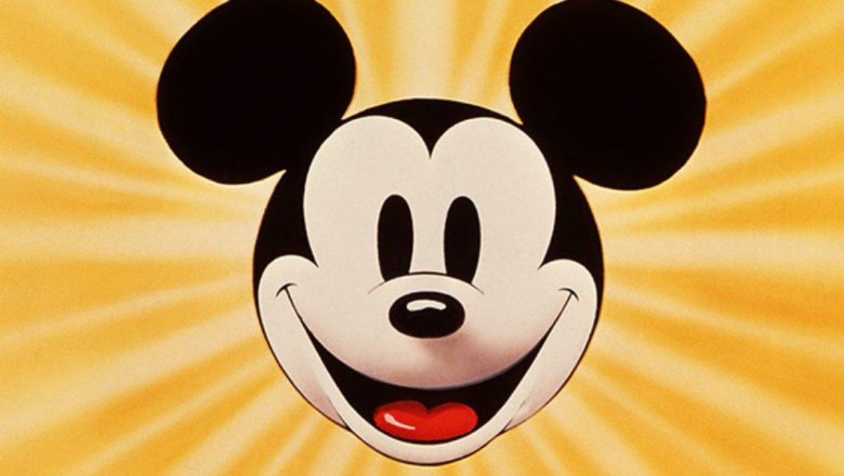 Mickey Mouse celebrating his ultimate control