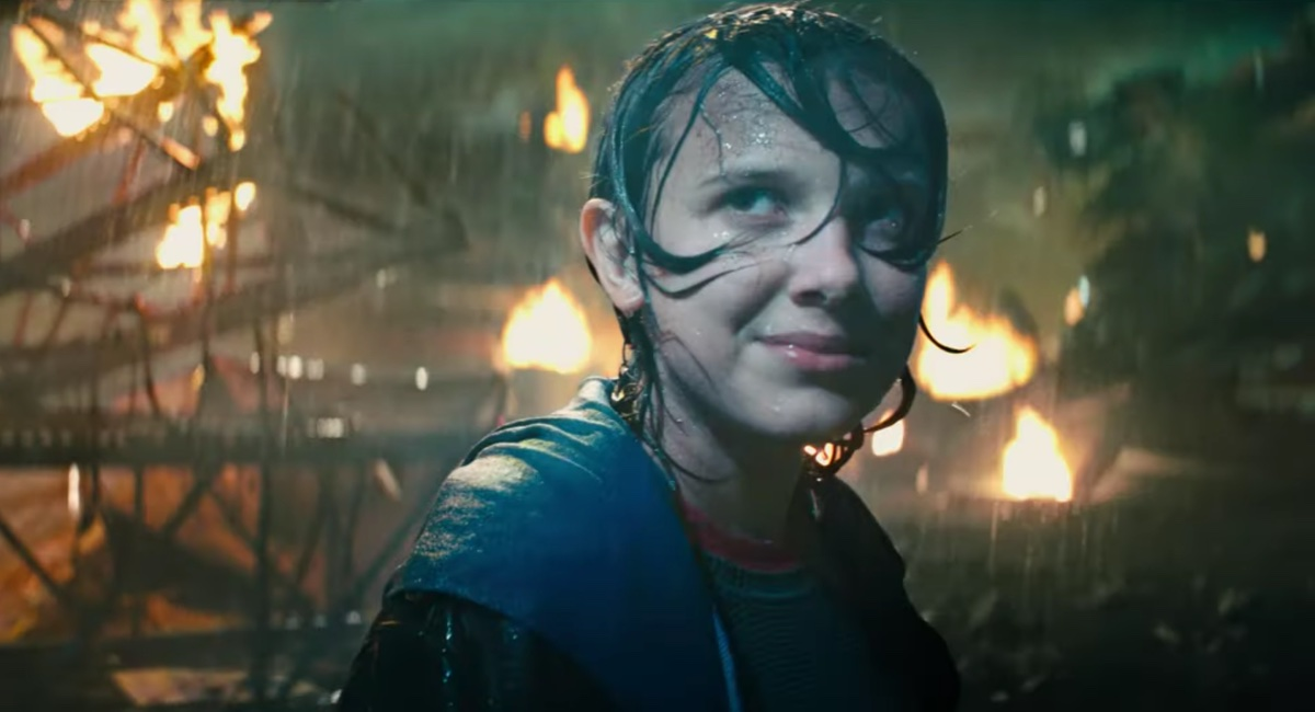 Millie Bobby Brown's character gets ready to watch Godzilla fight in the final trailer for Godzilla: King of the Monsters.