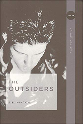 The Outsiders book cover.