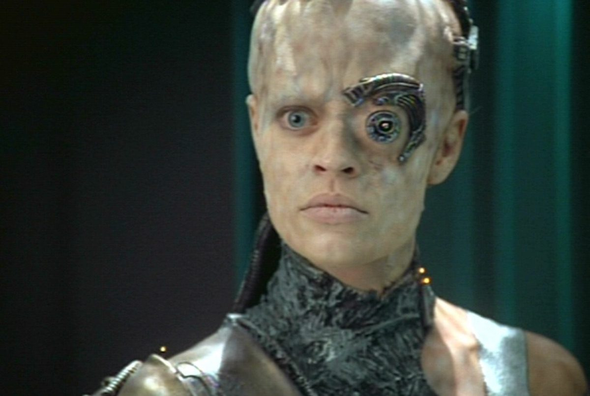 Seven of Nine Borg on Voyager