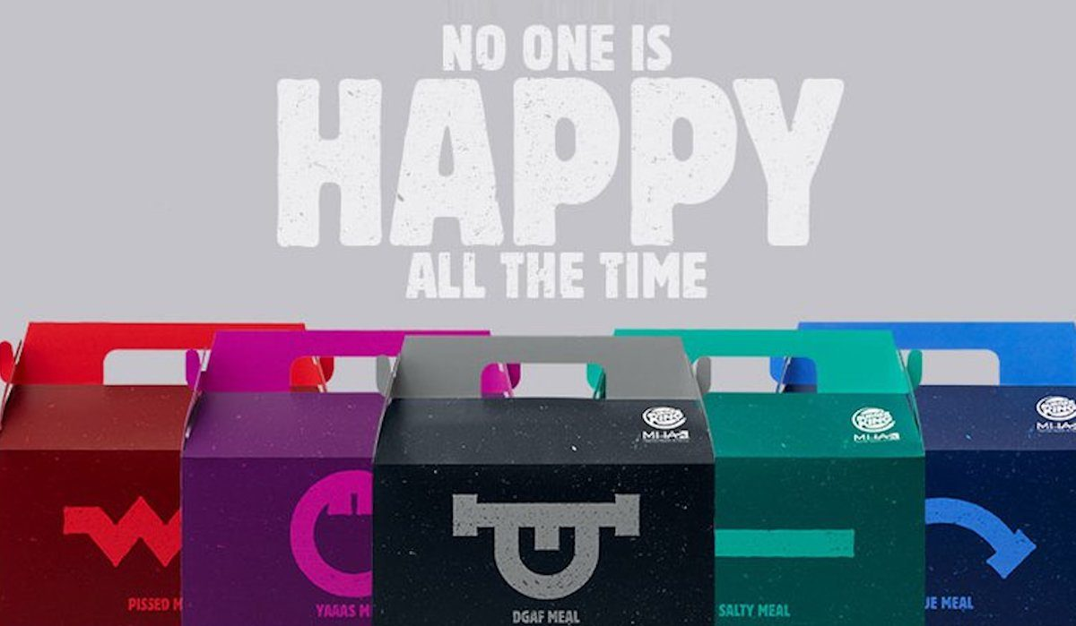 Burger King's new collection of anti-Happy Meals.