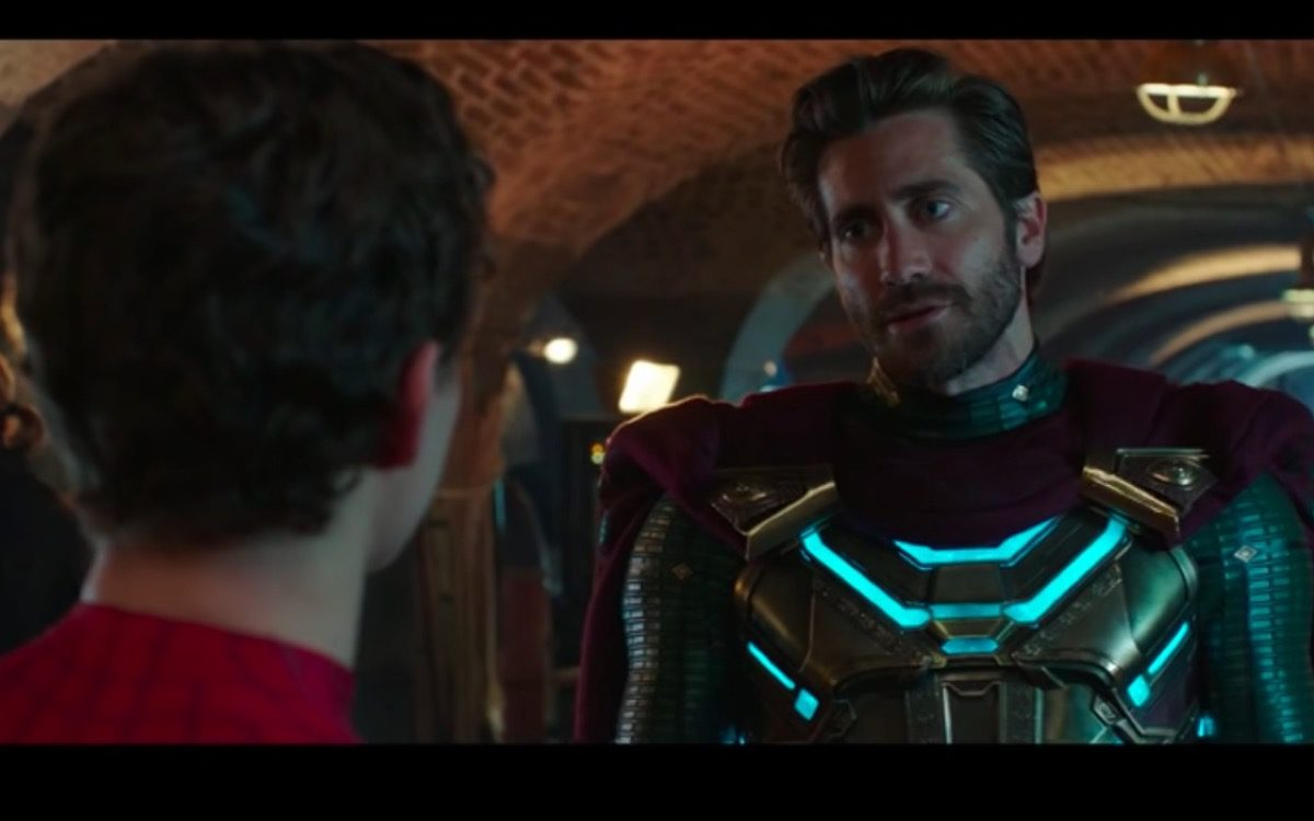Mysterio in Spider-Man: Far From Home.