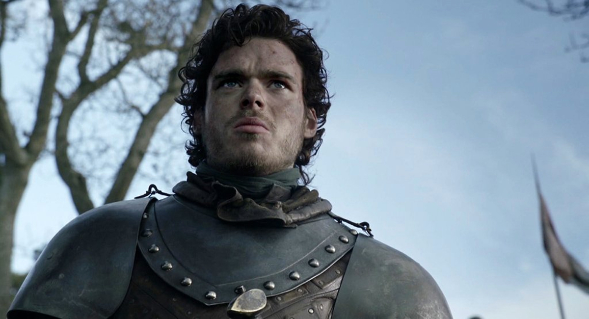 Robb Stark (Richard Madden) ponders his next move on Game of Thrones.