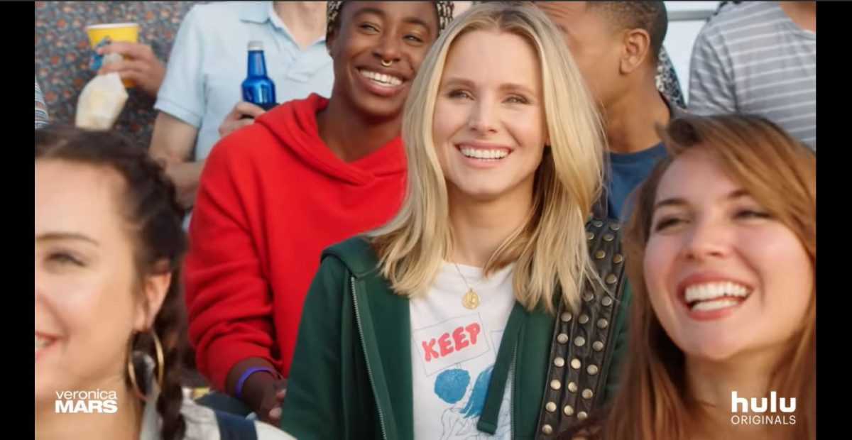 kristen bell reprises her role as veronica mars for hulu.