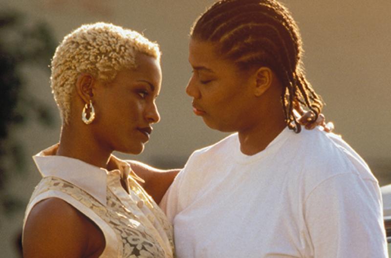 Cleo and Ursula in the 1996 movie set it off