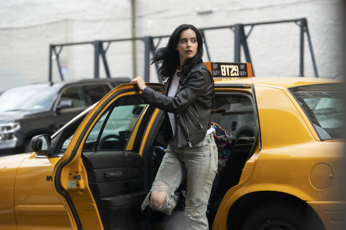 jessica jones as played by krysten ritter in season 3.