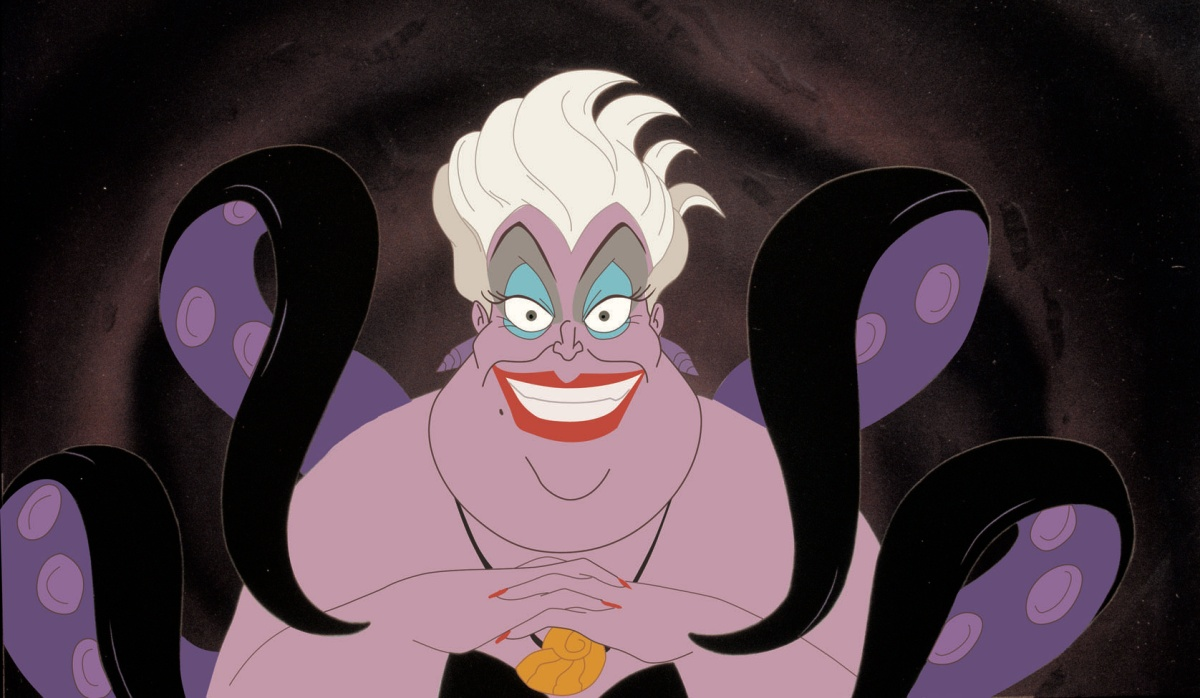 Pat Carroll in The Little Mermaid (1989) aka one of the queens of evil Disney
