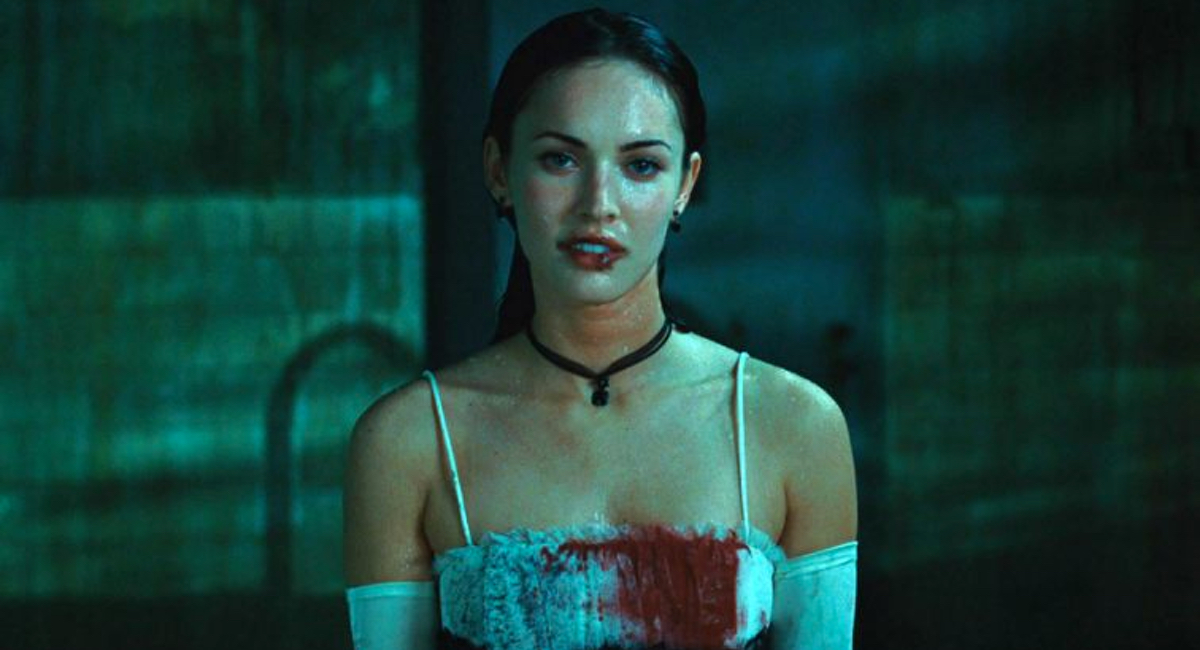 Jennifer (Megan Fox) gets ready to murder another victim in the cult classic Jennifer's Body.