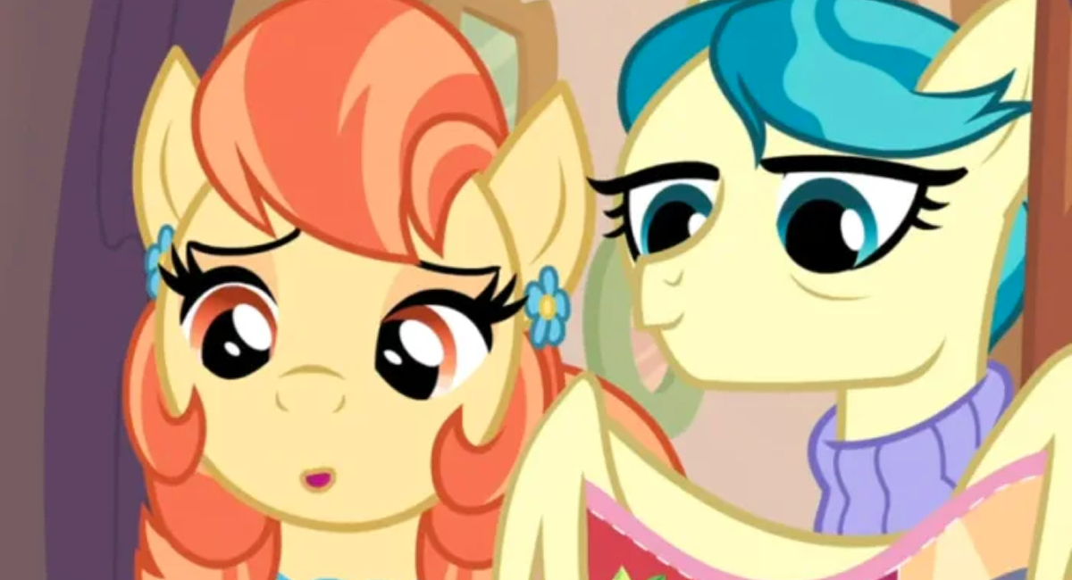 Auntie Lofty and Aunt Holiday are a Pride Month gift from My Little Pony to fans.