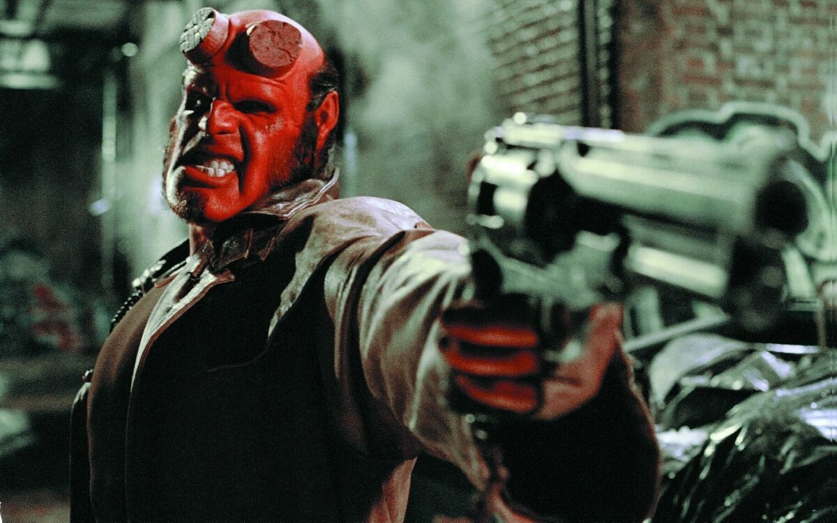 Ron Perlman in Hellboy (2004)