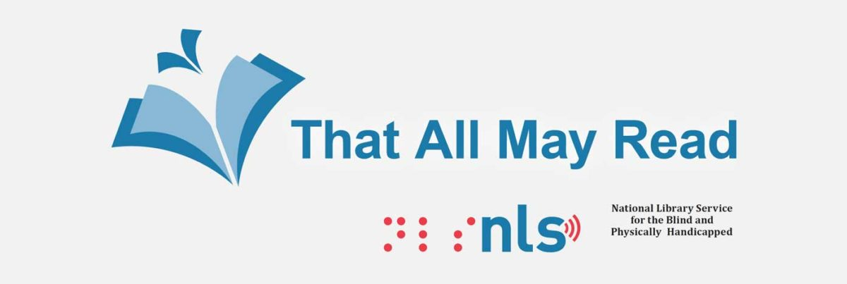 National Library Service for the Blind and Visually Handicapped logo.